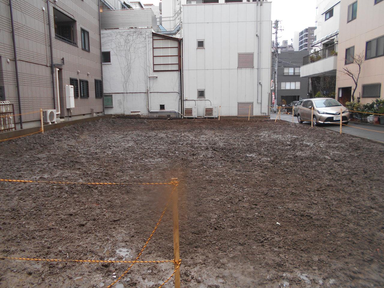 墨田区 鉄骨造解体工事 解体後